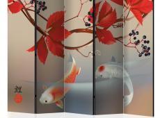 Paraván - Happy Fish II [Room Dividers]